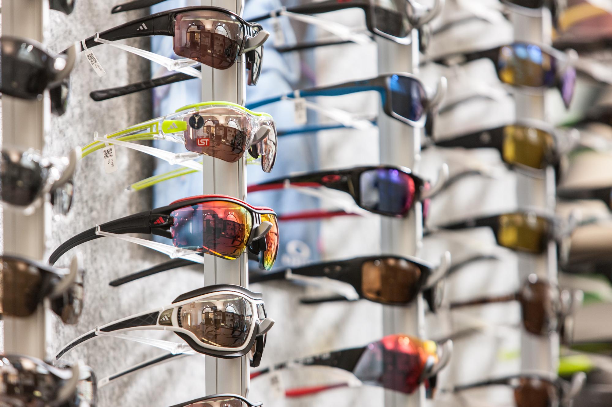 Sportbrillen Ständer Geschäft
